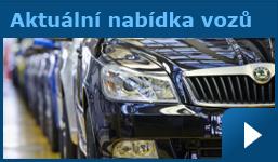 Nabídka vozidel